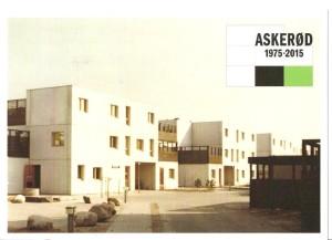 Askerød bebyggelsen som den så ud i 1975 - splinterny
